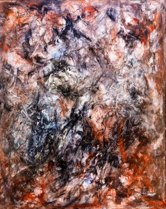 Acrylic on Canvas Pine Frame 96 x 80 cm 103 x 83 (framed) Memorial price £200 (List price £400)