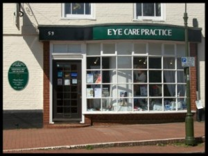 Lindfield Eye care road view