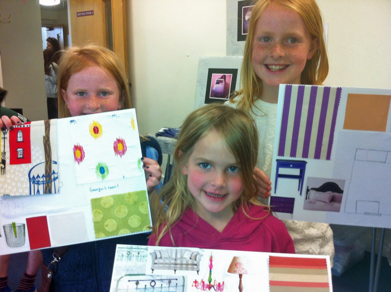 Who is the next interior designer in Lindfield? Children's workshop